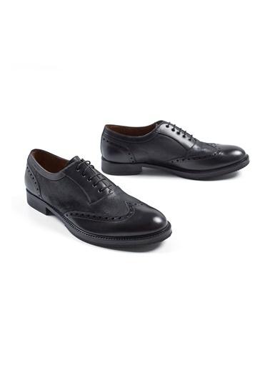 Hemington El Yapımı Deri Ayakkabı Siyah